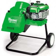 Бензиновый измельчитель Viking GB 370.2 комплект с наклонной воронкой