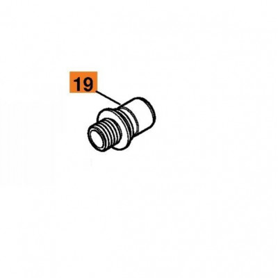 Адаптер Stihl для электроинструмента с быстроразъёмной муфтой