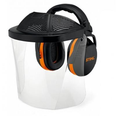Наушники с защитой глаз Stihl с пластиковым щитком