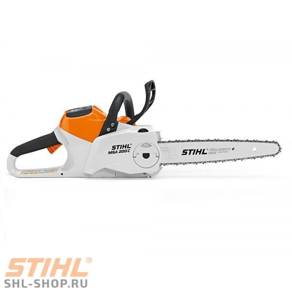 MSA 200 C-BQ шина 30 см без АКБ и З/У 12512000018 в фирменном магазине Stihl