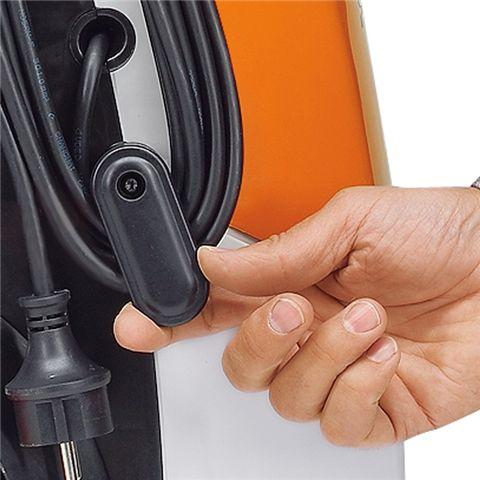 Поворотный держатель сетевого кабеля