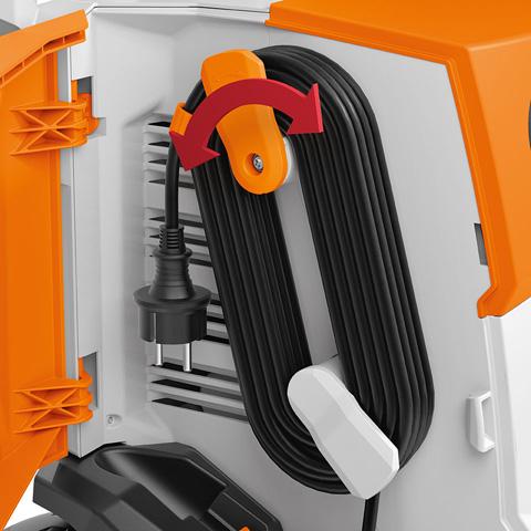 Удобное хранение электрического кабеля