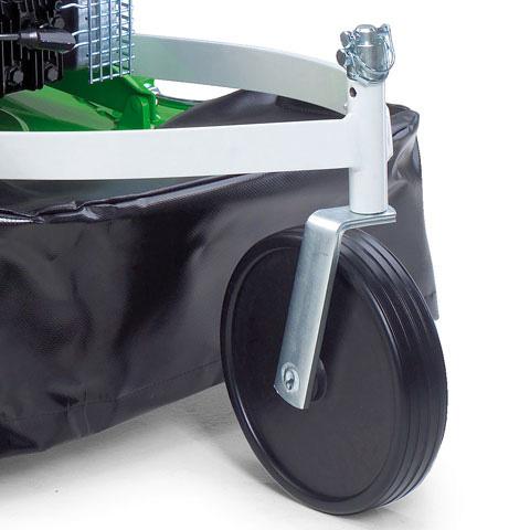 Переднее колесо регулируется по высоте