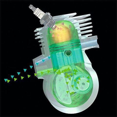 Двигатель 2-MIX STIHL