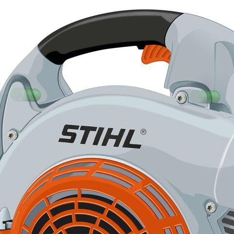 Антивибрационная система STIHL